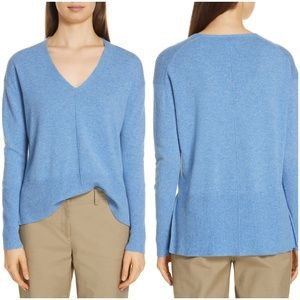 Nordstrom Signature High Low Cashmere Sweater